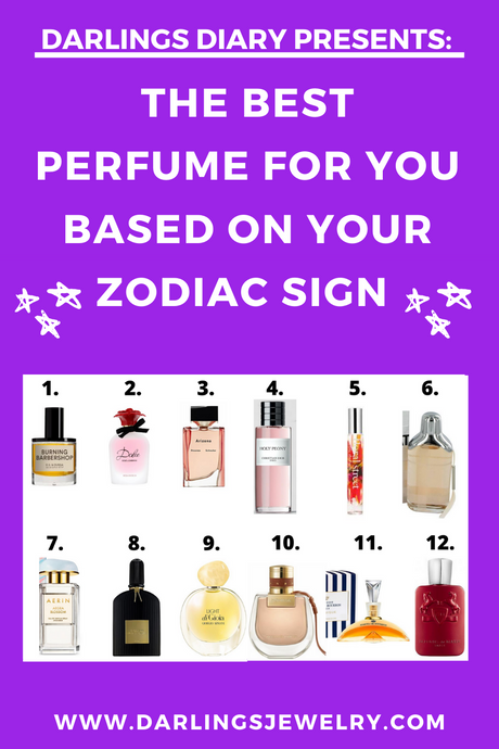 The Best Perfume For You Based On Your Zodiac Sign 💜