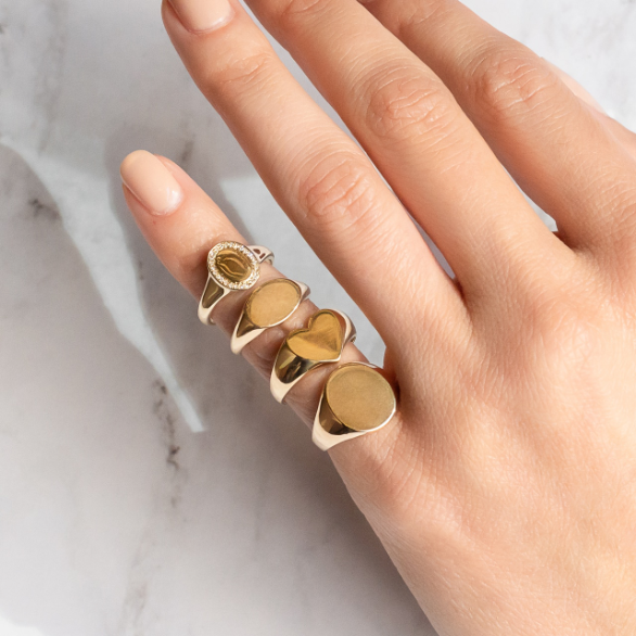 Darlings Signet Ring - Darlings Jewelry | Express Yourself Through Bling!