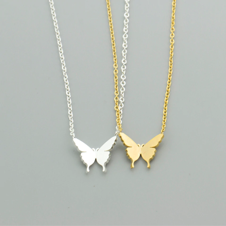 Butterfly Babe Necklace - Darlings Jewelry | Express Yourself Through Bling!