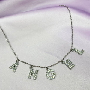 Angel Charm Necklace - Darlings Jewelry