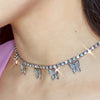 Crystal Butterfly Necklace - Darlings Jewelry | Express Yourself Through Bling!
