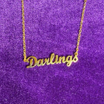 Classic Nameplate Necklace - Darlings Jewelry