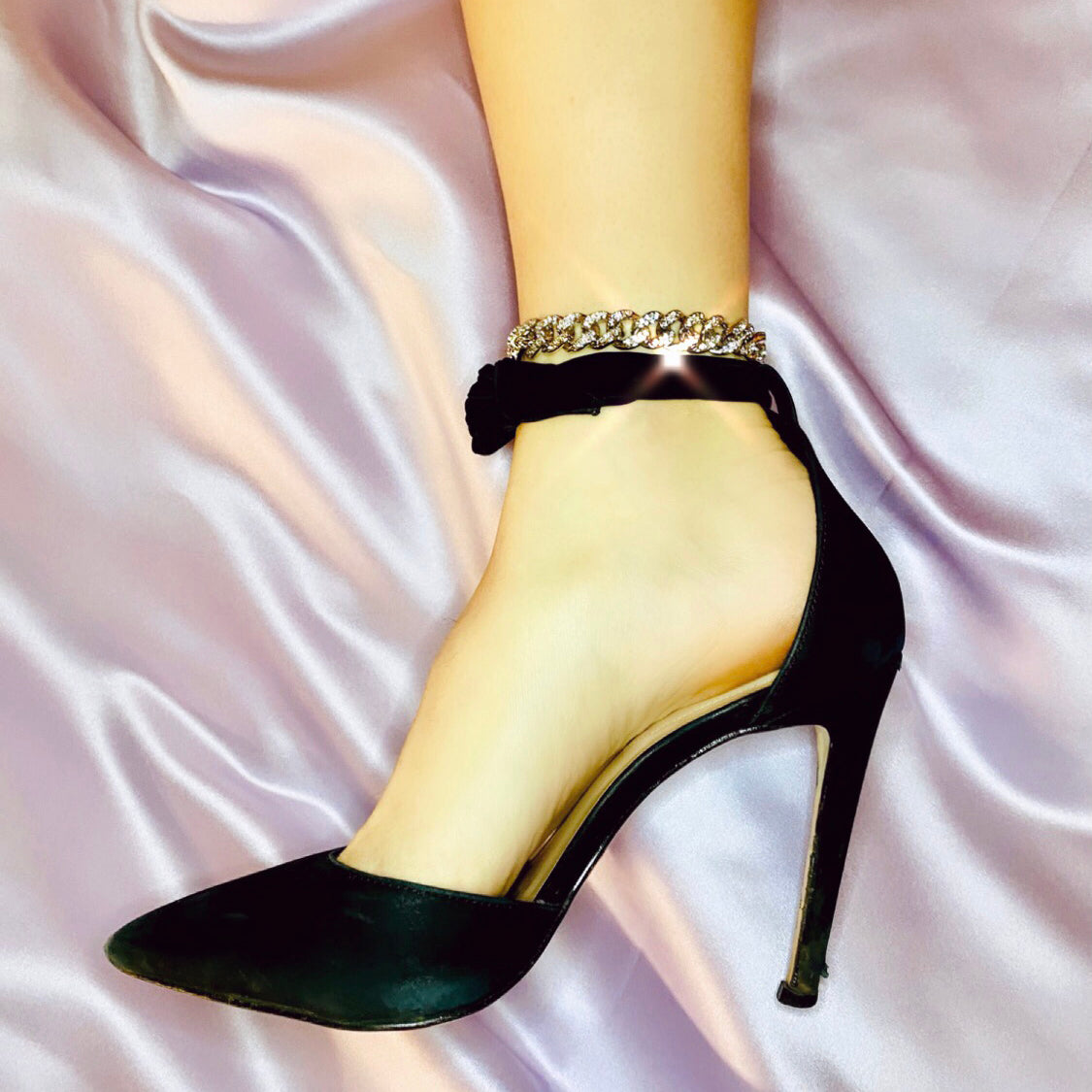 Cuban Luxe Anklet - Darlings Jewelry | Express Yourself Through Bling!
