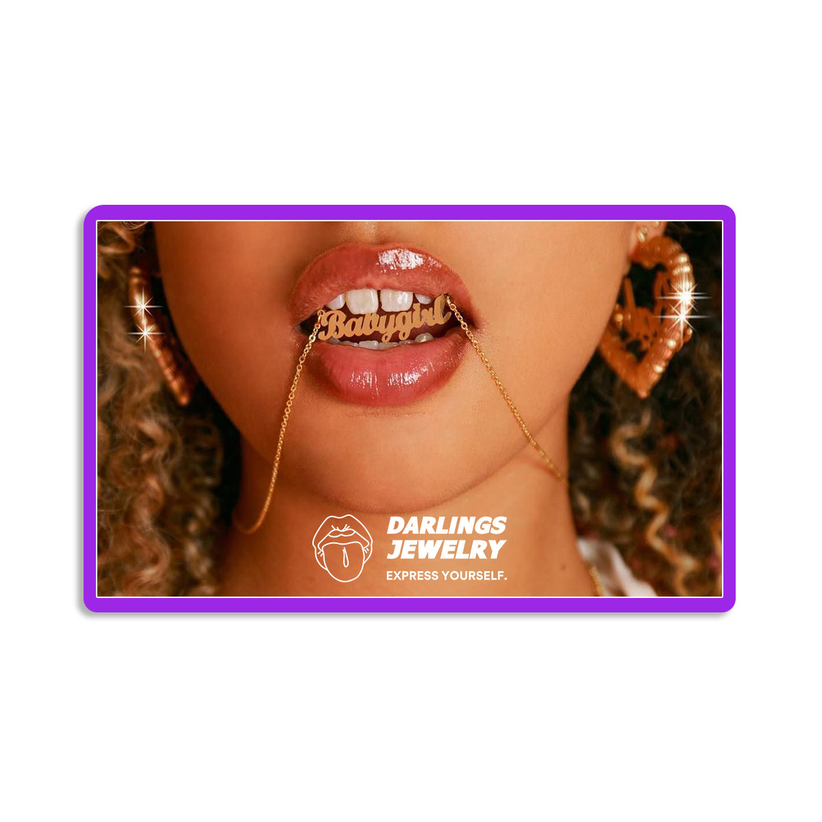 Digital Gift Card - Darlings Jewelry | Express Yourself Through Bling!