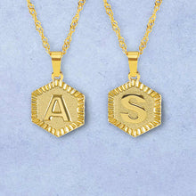Load image into Gallery viewer, Roman Letter Pendant Necklace - Darlings Jewelry | Express Yourself Through Bling!