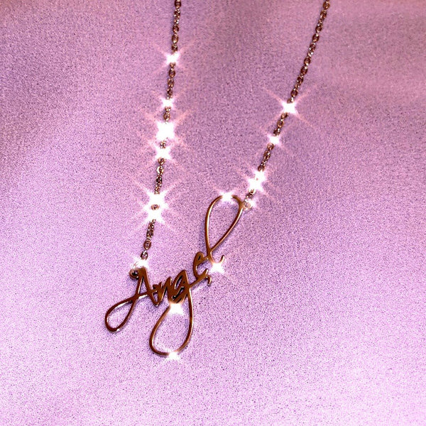 Darlings Angel Necklace - Darlings Jewelry | Express Yourself Through Bling!