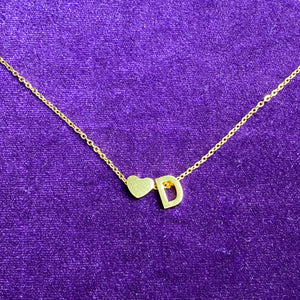 Love Letter Necklace - Darlings Jewelry