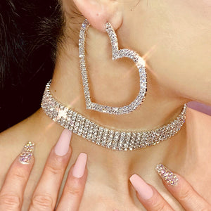 Lovestoned Hoops - Darlings Jewelry | Express Yourself Through Bling!