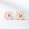 Fairytale Monogram Earrings - Darlings Jewelry | Express Yourself Through Bling!