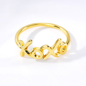 XOXO Ring - Darlings Jewelry | Express Yourself Through Bling!