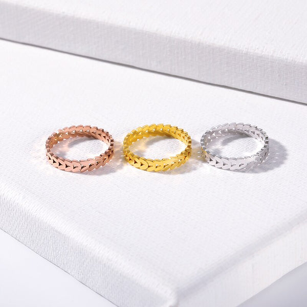 Love Everlasting Chain Ring - Darlings Jewelry | Express Yourself Through Bling!