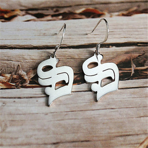 Old English Letter Earrings - Darlings Jewelry | Express Yourself Through Bling!