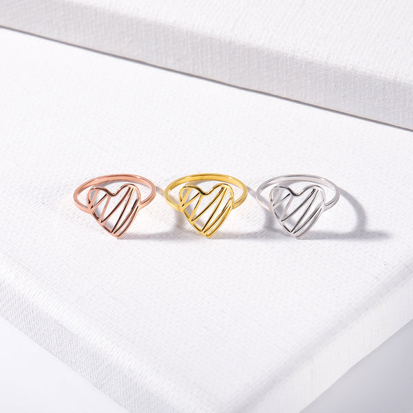 Electric Heart Ring - Darlings Jewelry | Express Yourself Through Bling!