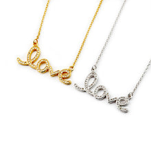 Load image into Gallery viewer, Love Necklace - Iced - Darlings Jewelry | Express Yourself Through Bling!