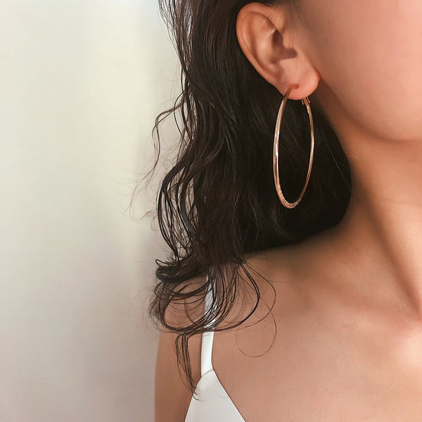 Darlings Classic Hoop Earrings - Darlings Jewelry | Express Yourself Through Bling!