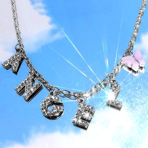 Angel Charm Necklace - Darlings Jewelry | Express Yourself Through Bling!