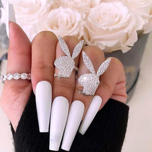 Playboy Bunny Ring - Darlings Jewelry | Express Yourself Through Bling!