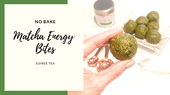 No Bake Matcha Energy Balls