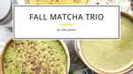 3 Matcha Latte Recipes