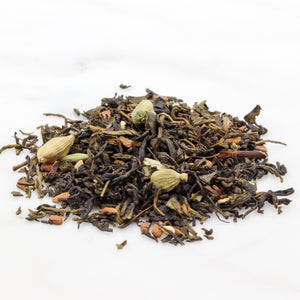 Green tea loose leaf maple
