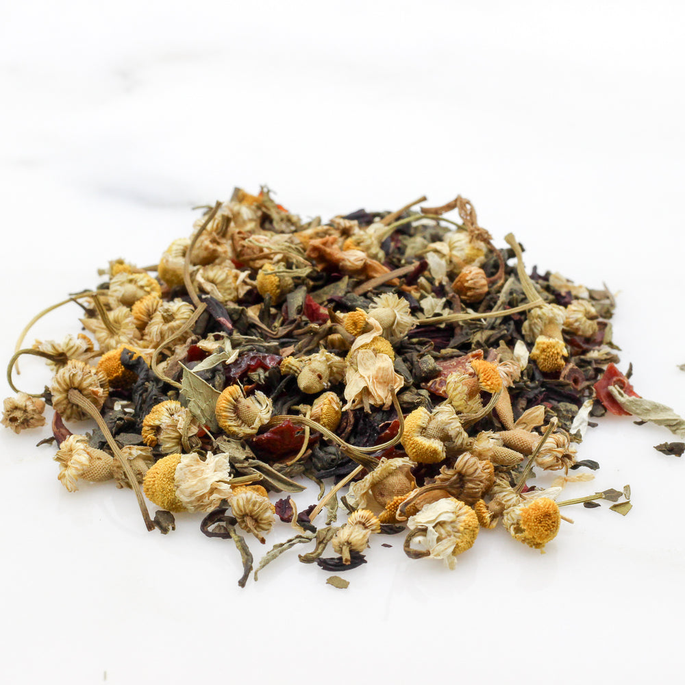 loose leaf Green Tea blueberry health benefits