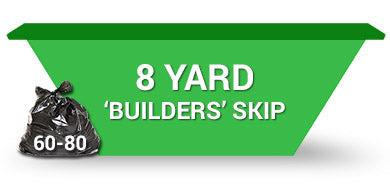 8 Yard Skip - Order Online Save 5% 2 weeks hire
