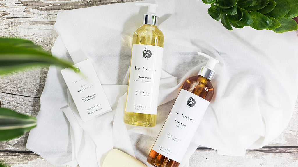 All Natural French Soap & Body Wash by Le Lores