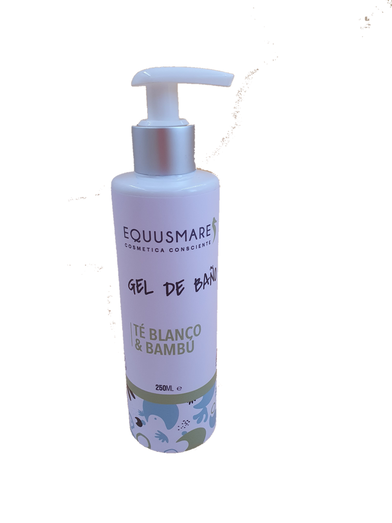 Gel de Baño Te Blanco Bamboo - 250ml
