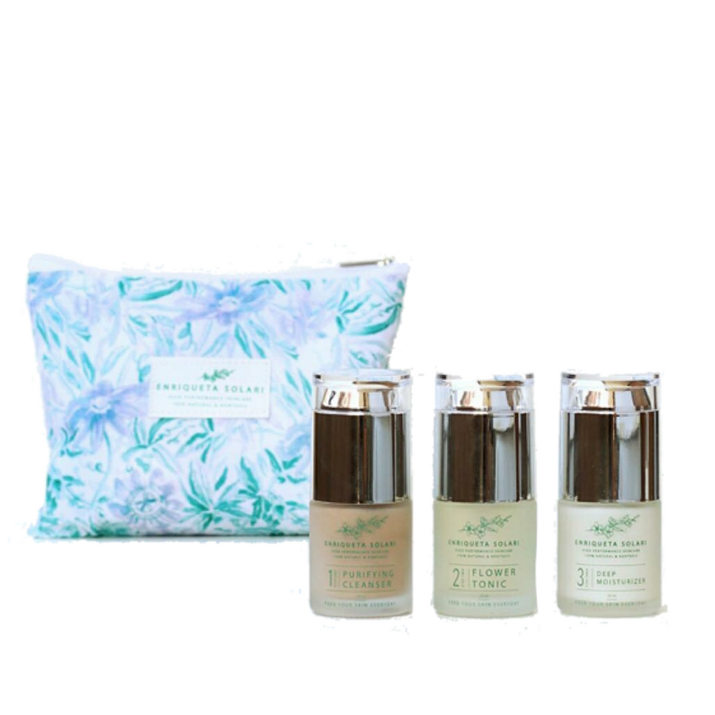 Travel Set Facial - Piel Mixta o Grasa, Pieles Sensibles