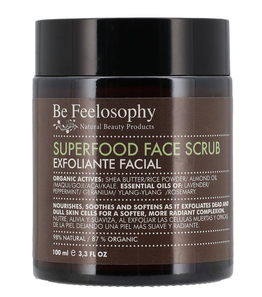 Exfoliante Facial Superfood con Polvo de Arroz - 100ml