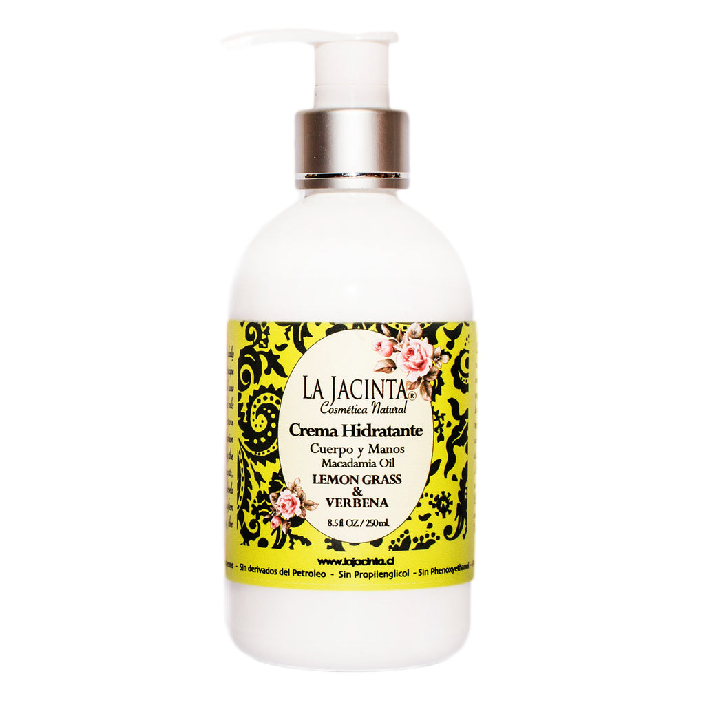 Crema Hidratante Verbena &Lemon Grass - 250ml