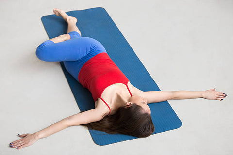 hip roll and bridge