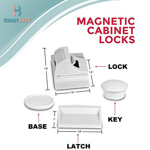 Magnetic Child Safety Cabinet Locks