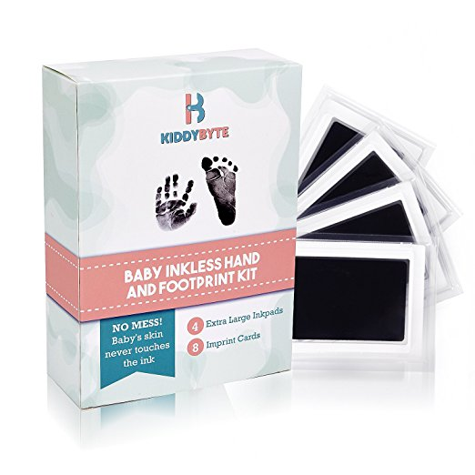 Baby Inkless Footprint & Handprint Kit