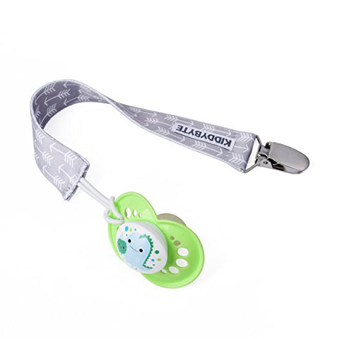 Baby Pacifier Clip Holder for Boy and Girl - 4 Pack
