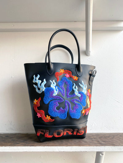 Floating Hibiscus Tote Bag