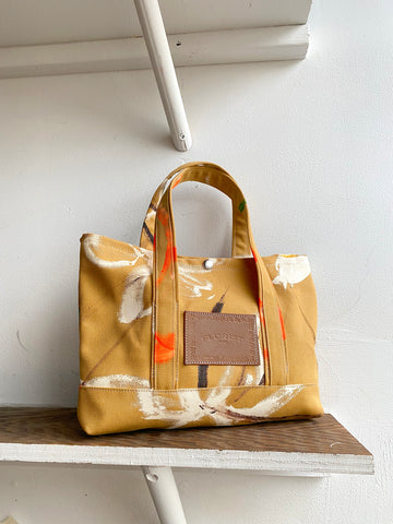 Mini Canvas Tote ~ Dirt