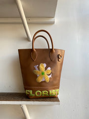 Smiling Flower Tote Bag