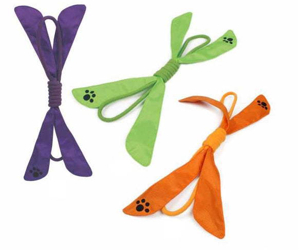Extreme Bow Squeak Pet Rope Toy