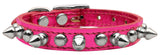 Metallic pink chaser collar