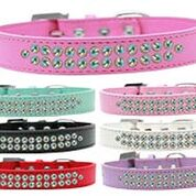 Double Strand AB Crystal Vinyl Collars