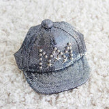 Dog Bling Cap in blue
