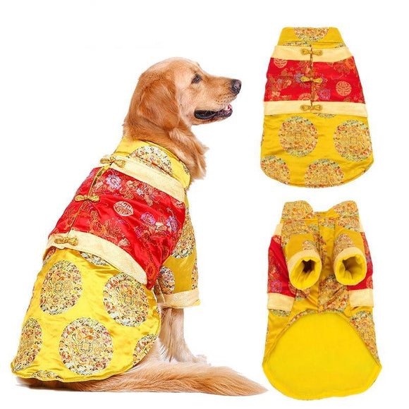 Large Breed Dog Chinese New Year Costume