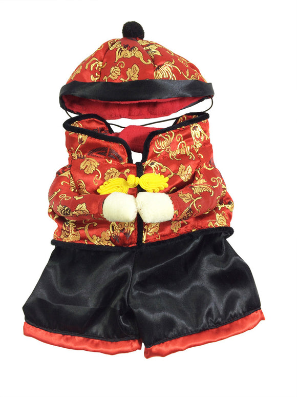 Pet dog Chinese New Year Costume