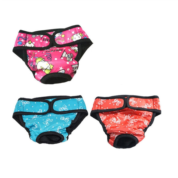 3 dog underwear assorted colors