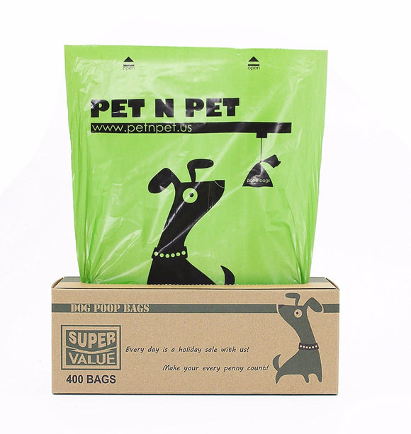 400 Ct Roll Earth-Friendly Dog Waste Bags