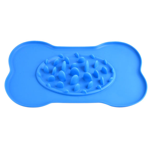 Slow Feeder Placemat in blue