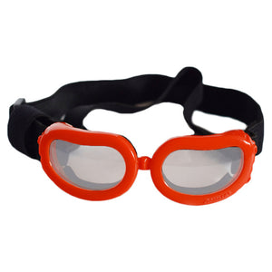 Dog goggles in assorted colors