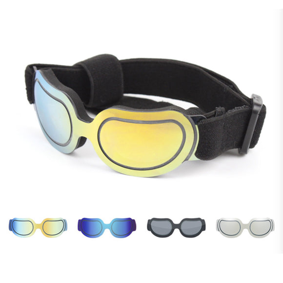Rimless dog sunglasses assorted colors