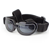 Rimless dog sunglasses in black